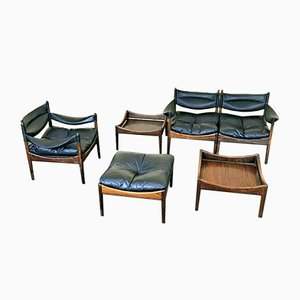 Teak Modus Living Room Set by Kristian Vedel for Soren Willadsen, 1960s