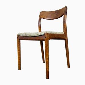 Chaises de Salon en Teck par Johannes Andersen pour Uldum Møbelfabrik, 1960s, Set de 4