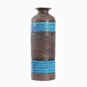 Vaso grande in ceramica di Aldo Londi per Bitossi, Italia, anni '70
