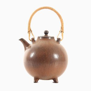 Scandinavian Ceramic Teapot by Gunnar Nylund for Rörstrand, 1960s