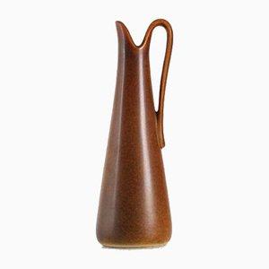Kleine skandinavische Hech Krug aus Keramik von Gunnar Nylund für Nymölle, 1960er