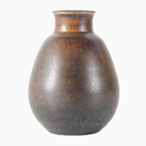 Petit Vase Vintage par Erik & Ingrid Triller pour Tobo Stengods Verkstad