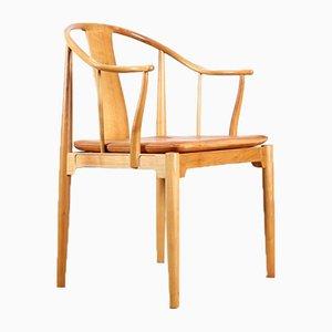 Modell 3283 China Stühle von Hans J. Wegner für Fritz Hansen, 1944, 2er Set