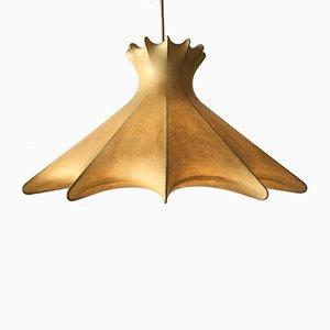Vintage Space Age Italian Cocoon Pendant Lamp by Achille Castiglioni, 1960s
