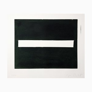 Black and White Aquatint Print by José Pedro Croft