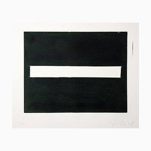 Impresión Aguatinta en blanco y negro de José Pedro Croft