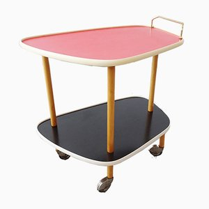 Mid-Century Red Trolley, 1960s