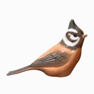 Oiseau en Porcelaine de Royal Copenhagen, Danemark, 1960s