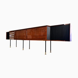 Mid-Century Italian Rosewood Sideboard by Vittorio Dassi, 1950s