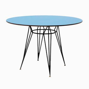 Mid-Century Round Dining Table by Carlo Ratti, 1950s