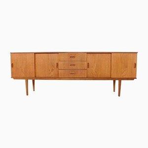 Sideboard im skandinavischen Stil mit Schiebetüren, 1960er