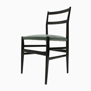 Leggera Dining Chairs by Gio Ponti for Cassina, 1950s, Set of 6