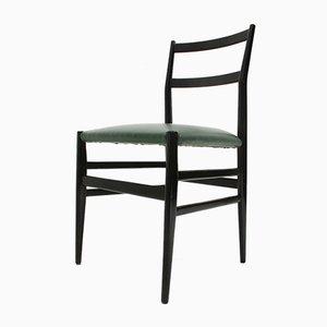 Leggera Esszimmerstühle von Gio Ponti für Cassina, 1950er, 6er Set
