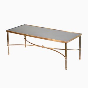 Mid-Century French Brass Coffee Table, 1960s