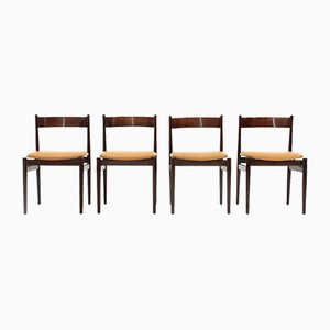 Model 107 Dining Chairs by Gianfranco Frattini for Cassina, 1950s, Set of 4