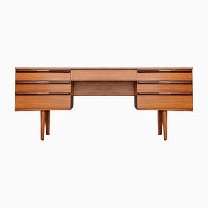 Mid-Century Teak Desk from Avalon, 1960s