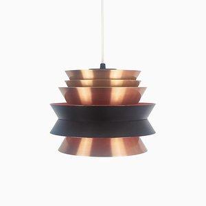 Lámpara colgante sueca Mid-Century de Carl Thore / Sigurd Lindkvist para Granhaga Metallindustri, años 60