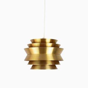 Vintage Swedish Ceiling Lamp by Carl Thore / Sigurd Lindkvist for Granhaga Metallindustri, 1960s