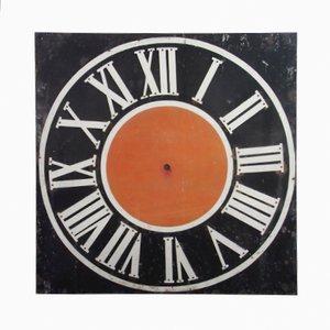 Esfera de reloj de torre antigua