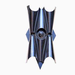 Space Age Sculptural Sconces, Set of 2