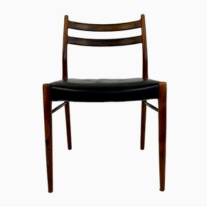 Rosewood Model GS71 Dining Chairs from Glyncore Stolefabrik, 1960s, Set of 9