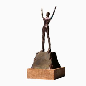 Bronze Sculpture by Mario Rossello, 1970s