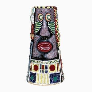 Large Italian Ceramic Vase by Otello Rosa for San Polo Venezia, 1950s