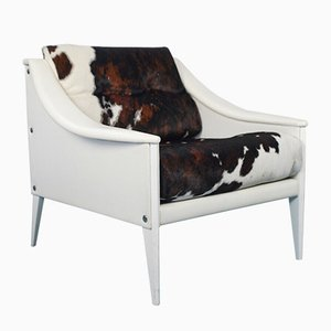Vintage Sessel von Gio Ponti für Poltrona Frau, 1990er, 2er Set