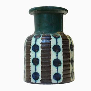 Danish Modern Ceramic Vase by Max Thorsbro for Thorsbro, 1960s