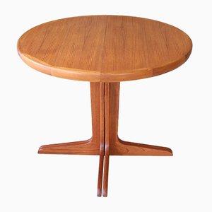Table de Salle à Manger Mid-Century en Teck, Danemark, 1960s