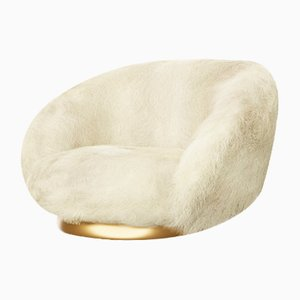 Elf Lounge Chair in Angora Cream by Studio SORS