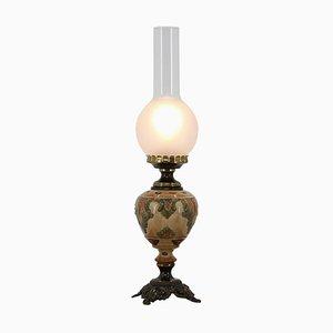 Porzellan Tischlampe, 1950er