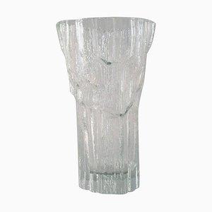 Finnish Art Glass Vase by Tapio Wirkkala for Iittala, 1960s