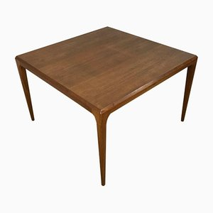 Danish Teak Coffee Table by Johannes Andersen for Silkeborg, 1960s