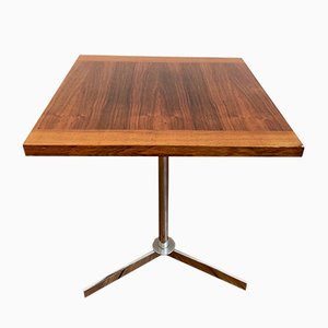 Wooden Table or Stool on an Iron Frame, 1950s