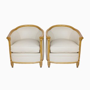 Tub Chairs, 1930s, Set of 2