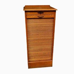 Antique Oak Filing Cabinet