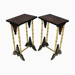 Tables à Vin Antique, Royaume-Uni, Set de 2