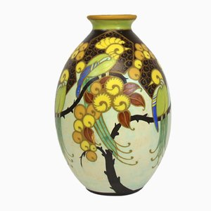 Vaso Art Deco di Charles Catteau per Boch Frères, anni '20