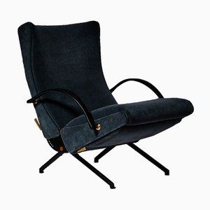 Mid-Century Italian Model P40 Lounge Chair by Osvaldo Borsani for Tecno, 1950s