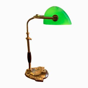 Lampada da tavolo Churchill antica regolabile