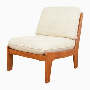 Mid-Century Danish Teak Lounge Chair, 1970s