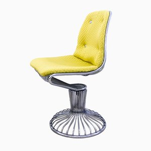Metal Wire Swivel Chair, 1960s