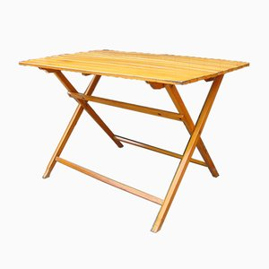 Mesa de jardín plegable vintage de Herlag, años 60