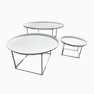 Fat Fat Coffee Tables by Patricia Urquiola for B&B Italia / C&B Italia, 2011, Set of 3