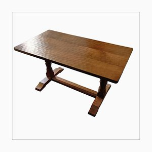 Vintage Oak Dazed Dining Table by Wilf Hutchinson