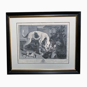 Antique Print Copy by Jean Baptiste Oudry
