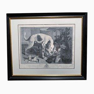 Antique Print Copy by Jean Baptiste Oudry