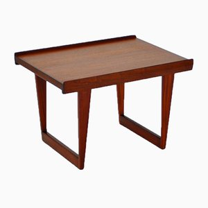 Small Mid-Century Rosewood and Teak Coffee Table from Peter Løvig Nielsen