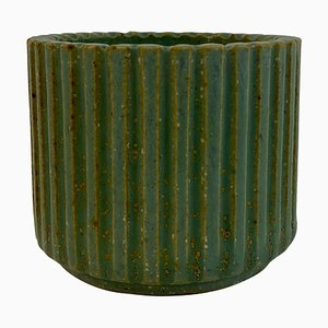 Danish Stoneware Pot by Arne Bang, 1940s
